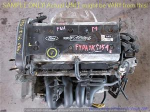FORD FYDA 1.6L ZETEC DOHC 16V Engine -FOCUS