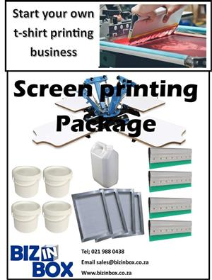 Start your own screen printing t-shirt business