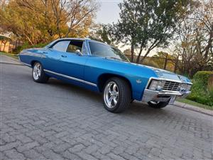 67 Chevrolet Caprice pillarless 327v8