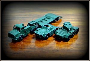Matchbox lesney military cars take all for R450