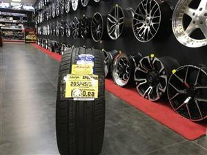 17 inch tyres tires 205-45-17 Sportiva brand new