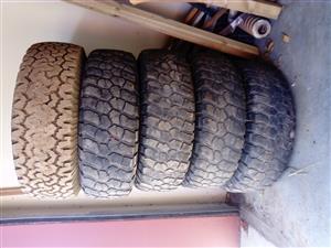 Landcruiser Rims & Tyres