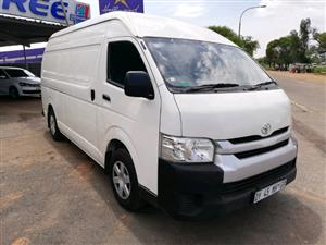 2015 Toyota Quantum 2.5D 4D S Long panel van