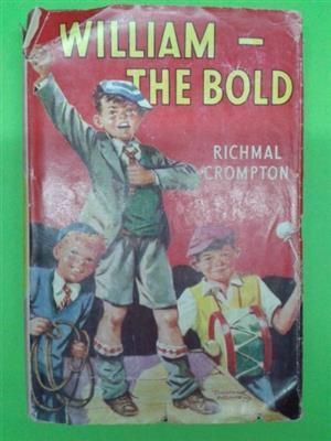 William - The Bold - Richmal Crompton - Fourth Impression 1958.