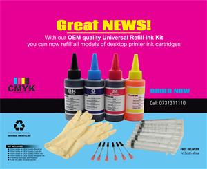Universal Refill Ink Kits