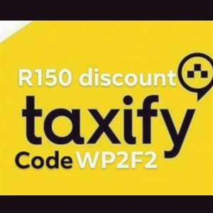 R150 Taxify Discount