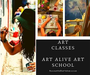 Art Classes @ Art Alive Art School