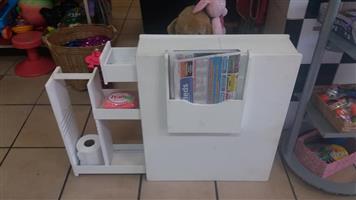 Wit badkamer kassie