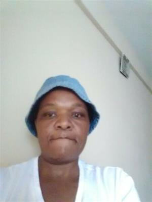 Active and energetic SA domestic worker with refs needs work.