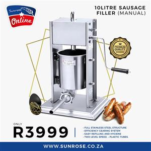 SAUSAGE STUFFER FOR SALE - WORS MAKER FOR SALE - SAUSAGE MAKER FOR SALE