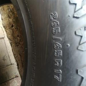 fairly used tyres still in good conditions