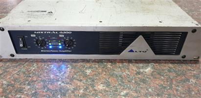 Alto Professional Mistral 4000 Amplifier