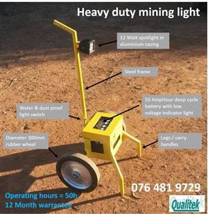 Heavy duty mining spotlight