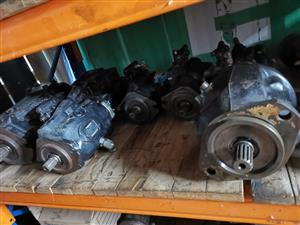Volvo hydrolic pumps new and used