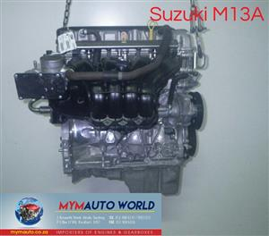 Imported used  JIMNY 1.3L, M13A engine Complete