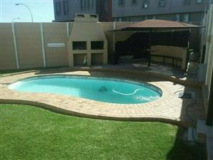 Goodwood Border/CHURCHILL ESTATE :Walk to N1-CITY MALL: DUPLEX COMPLEX /POOL/ 2BED/ 2CAR PARKING