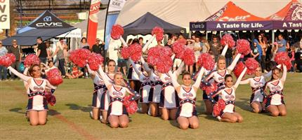 Pompoms for Cheerleaders in SA