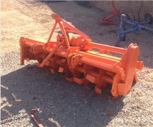 S3157 Orange Selectatilth 2m Rotavator Pre-Owned Implement