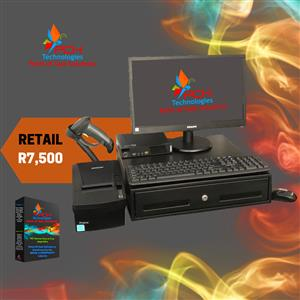 Retail Point of Sale System Complete (Refurb) R7500 Incl VAT