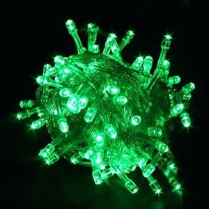 LED Decorative Fairy String Lights Waterproof 220V AC in Green. Brand New.