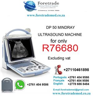 DP50 Mindray ultrasound machine only for R76680 CONTACT PATRICK ON 0110461898