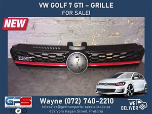 Volkswagen Golf 7 GTI - NEW Grille FOR SALE!