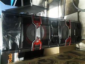 Audionic DJ-700 2.0 Channel Speakers - Black Brand New Sealed
