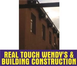 We do building construction, plumbing, drywall, ceiling and repair