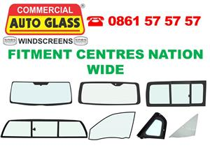 We supply and fit Windscreens