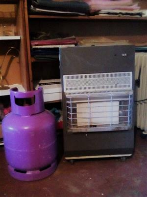 GAS HEATER AND GAS TANK FOR SALE, R1300 BARGAIN! CRESTA