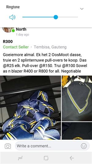 School clothes for sale
