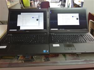 i7, 16gb ram, 750gb hdd, nvidia quadro k3100m graphics dell precision laptop, 17 inch