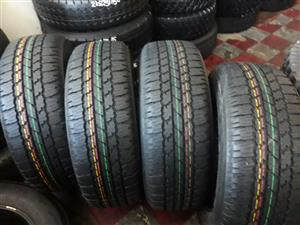 265 / 65 / 17 Bridgestone dueller A/T tyres