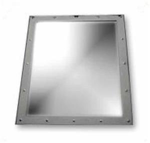 CHROME RECTANGULAR WALL MOUNTED MIRROR!! ON SPECIAL!!!