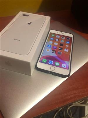 Apple Iphone 8 plus for Sale Excellent condition with Box and accessories