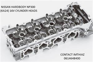 NISSAN HARDBODY NP300 2.4 (KA24) 16V CYLINDER HEADS (BRAND NEW)