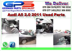 AUDI A5 2.0 TFSI 2011 USED PARTS FOR SALE