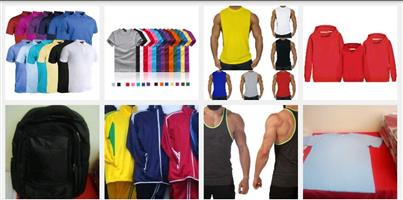 T-shirt Printing Stringer Vests Hoodies Tracksuits