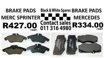 BRAKE PADS MERCEDES / SPRINTER