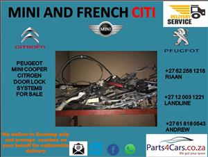 peugeot 207 door mechanism for sale