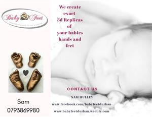 Baby👣Feet -Baby hand & feet Molds/Prints