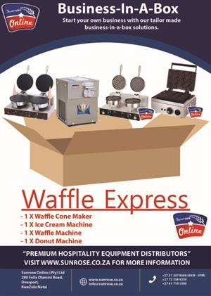 Waffle Express Combo.Super Sale.