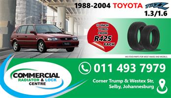 """13"""" TYRES FOR SALE"""
