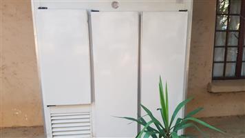 3 door cold room
