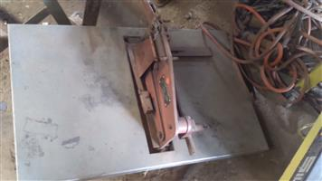 Guillotine Notching machine for sale