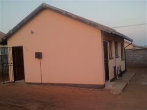 Two bedroom house for sale in Protea City, R550 000 with wall and gate