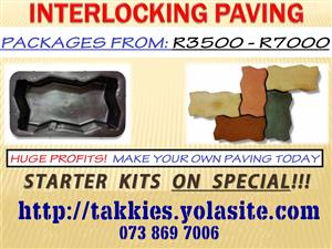 PAVING Making Equipment FOR SALE R4500