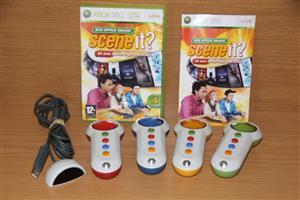 Xbox 360 Scene It with buzzers