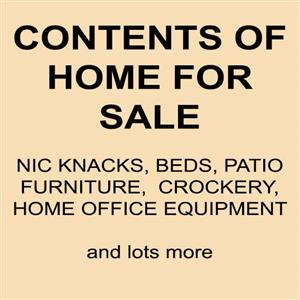 Home Contents for sale