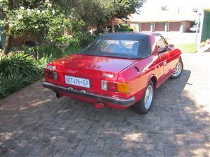 1983 Lancia Spider Convertible